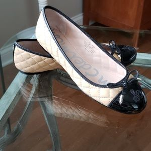 Sam Edelson Ballet Quilted Flats